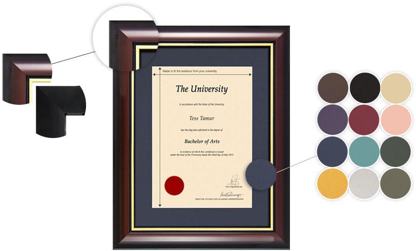 Degree Certification Frames