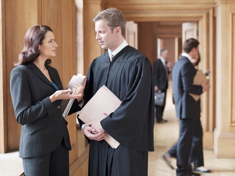 lawyer in Tailor De Jure robes