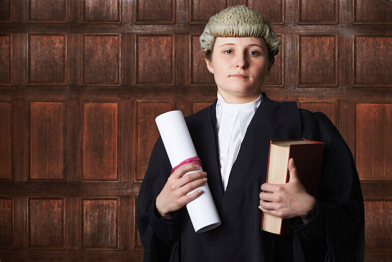 woman barrister